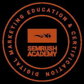 SEMRush Academy Certified