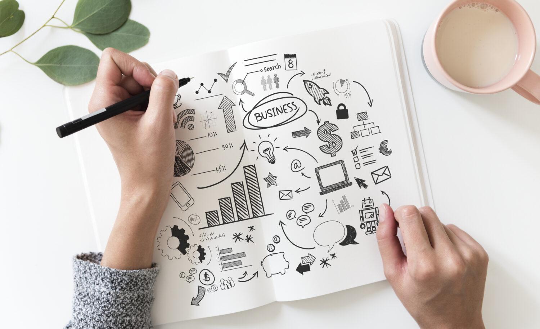 Brainstorming transforming storytelling ideas