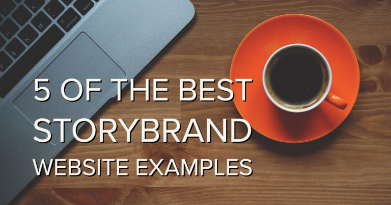 storybrand website examples